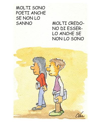 molti sono poeti